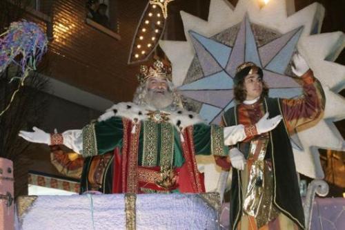 Cabalgata de los Reyes Magos en Gijón 2007 (foto El Comercio)