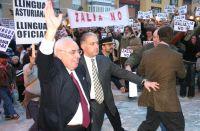 Álvarez Areces mostrando cuánto le importan las protestas