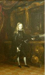 Carlos II, por Juan Carreño Miranda (foto El Comercio)