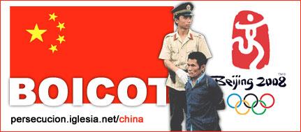 Boicot Olimpiadas Pek�n 2008