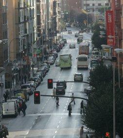 Los tres carriles actuales de Pablo Iglesias. / J. P.