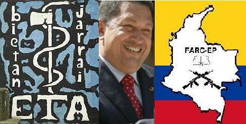 ETA, Chávez, FARC