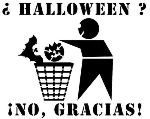 ¿Halloween? ¡No, gracias!
