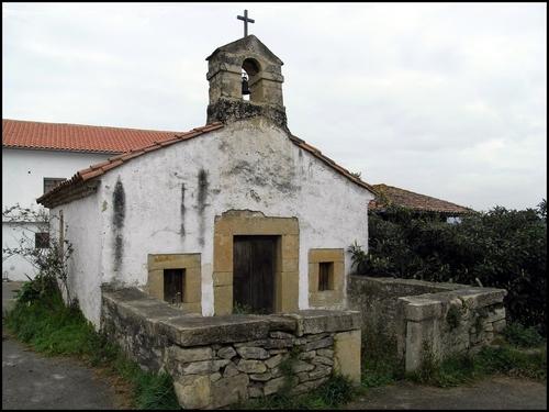 Capilla de la Virgen de la O en Trubia, Cenero