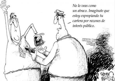 Atraco de interés público
