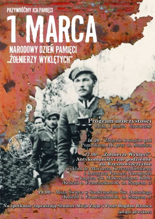 Polonia. Día del Recuerdo de los Soldados Condenados