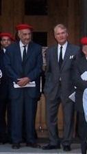 El Marqués de Jaureguizar con Don Sixto Enrique de Borbón