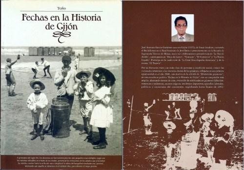Un libro de José Antonio García Gutiérrez, Toño