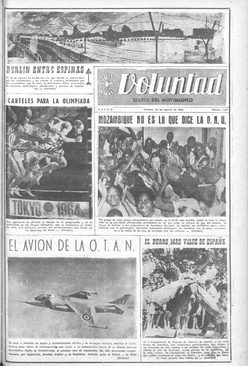 Voluntad, Gijón, 24 de agosto de 1962