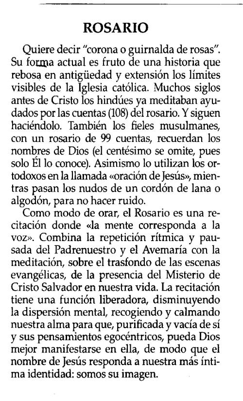 Así escarnece el «Taco Calendario del Corazón de Jesús» (que siga llamándose así es ya blasfematorio) al Rosario y a la Santísima Virgen en el día de su fiesta.