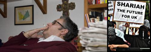 Juan Manuel de Prada, contra mahometismo y laicismo