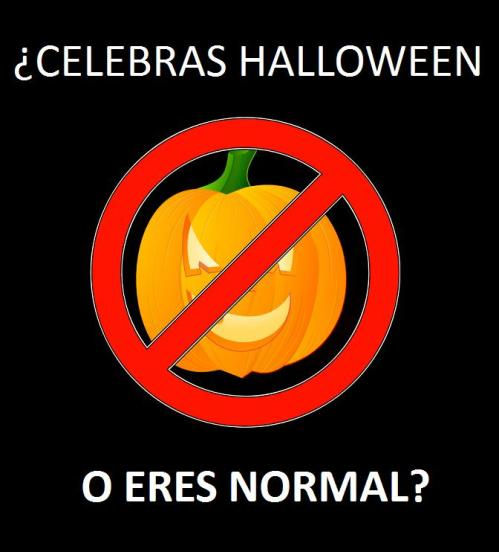 ¿Celebras Halloween o eres normal?