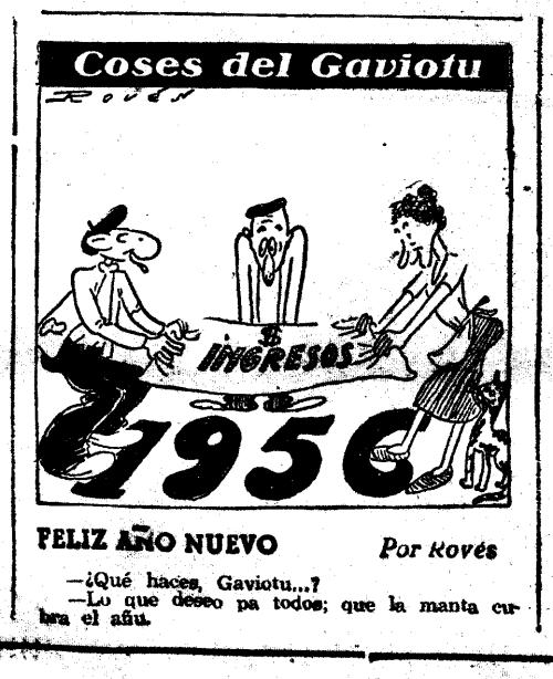 El Gaviotu, Voluntad 1 de enero de 1956