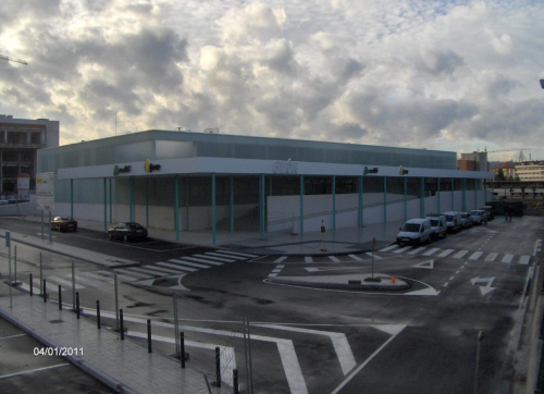 La estación provisional de ferrocarril en Gijón costó casi trece millones de euros en 2011. Repárese en ello: provisional = 13.000.000 €