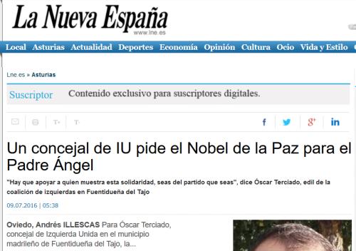 La Nueva España 9 julio 2016