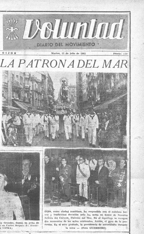 Voluntad 17 de julio de 1962