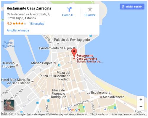 Casa Zarracina. Gijón