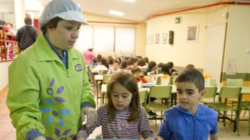 Los menús escolares cada vez tienen más en cuenta los aportes nutricionales - ABC