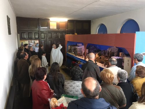 Inauguración del belén de la parroquia de Vega. 8 de diciembre de 2016