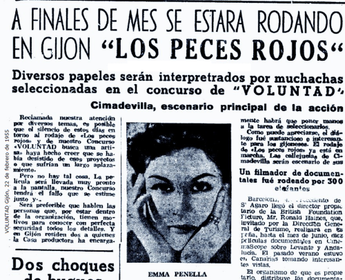 VOLUNTAD 22 de febrero de 1955